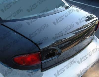 VIS Racing - Chevrolet Cavalier VIS Racing OEM Carbon Fiber Trunk - 95CHCAV2DOE-020C