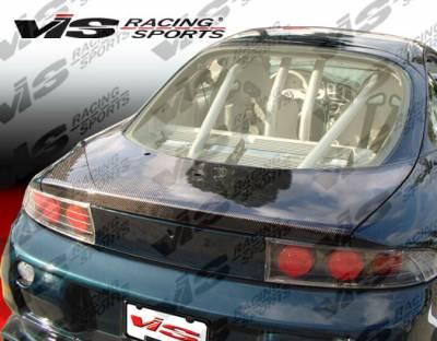 VIS Racing - Mitsubishi Eclipse VIS Racing OEM Carbon Fiber Hatch - 95MTECL2DOE-020C