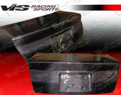 VIS Racing - Audi A4 VIS Racing OEM Carbon Fiber Trunk - 96AUA44DOE-020C