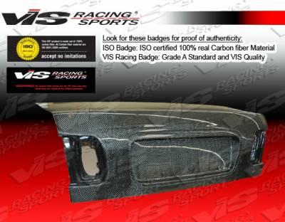 VIS Racing - Honda Civic 4DR VIS Racing OEM Carbon Fiber Trunk - 96HDCVC4DOE-020C