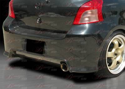 AIT Racing - Toyota Yaris AIT Racing Diablo Style Rear Bumper - TY07BMDIBRB2