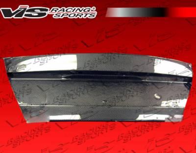 VIS Racing - Mitsubishi Mirage 4DR VIS Racing OEM Carbon Fiber Trunk - 97MTMIR4DOE-020C