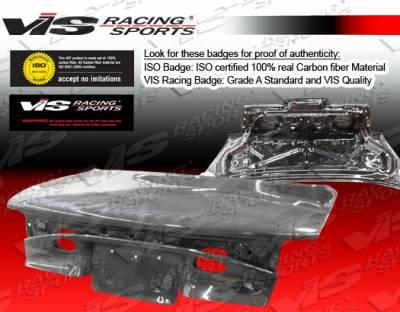 VIS Racing - Ford ZX2 VIS Racing OEM Carbon Fiber Trunk - 98FDZX22DOE-020C