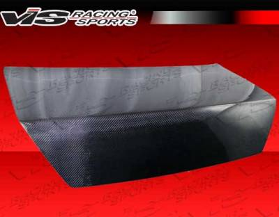 VIS Racing - Honda Accord 2DR VIS Racing Shaved OEM Style Carbon Fiber Trunk - 98HDACC2DOES-020C