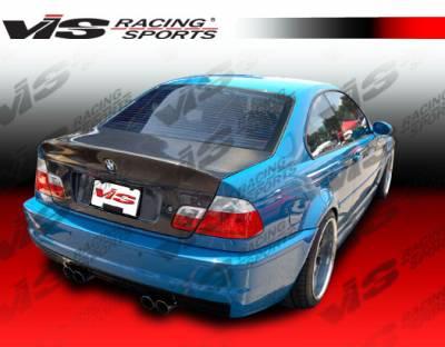 VIS Racing. - BMW 3 Series 2DR VIS Racing CSL Euro Fiberglass Trunk - 99BME462DCSL-020
