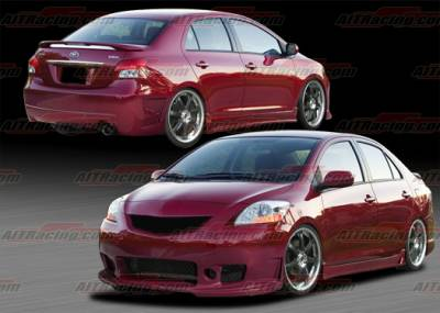 AIT Racing - Toyota Yaris AIT Racing Zen Style Complete Body Kit - TY07HIZENCK4