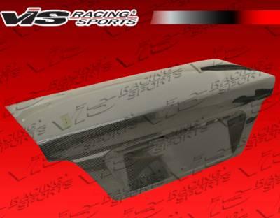 VIS Racing - Mitsubishi Galant VIS Racing OEM Carbon Fiber Trunk - 99MTGAL4DOE-020C