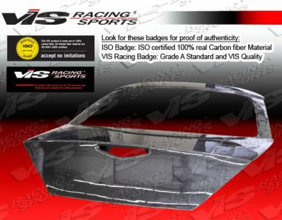 VIS Racing - Mercury Cougar VIS Racing OEM Carbon Fiber Hatch - 99MYCOU2DOE-020C