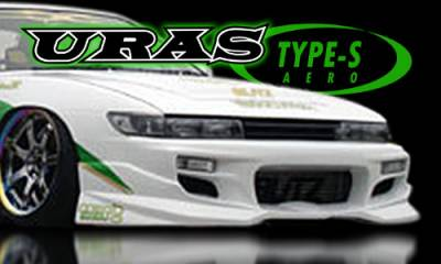 AIT Racing - Nissan Silvia AIT Racing Uras Type-S Style Front Bumper - U02011-5