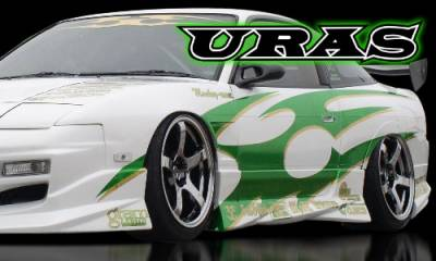 AIT Racing - Nissan 240SX AIT Racing Uras Type-S Style Side Skirts - U02023