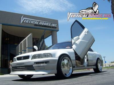 Vertical Doors Inc - Acura Legend L 4DR Vertical Doors Inc Vertical Lambo Door Kit - VDCAL9195