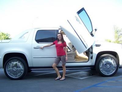 Vertical Doors Inc - Cadillac Escalade Vertical Doors Inc Vertical Lambo Door Kit - VDCCADEXT07