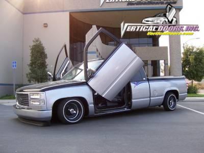 Vertical Doors Inc - Chevrolet C1500 Pickup Vertical Doors Inc Vertical Lambo Door Kit - VDCCHEVY/GMC8898