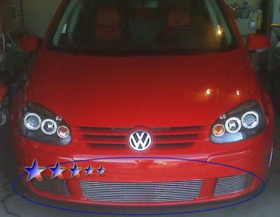 APS - Volkswagen Rabbit APS Billet Grille - Bumper - Aluminum - V65535A