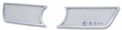 APS - Volkswagen Touareg APS Wire Mesh Grille - Upper - Stainless Steel - V75506T