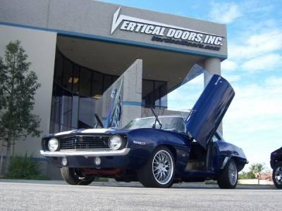 Vertical Doors Inc - Chevrolet Camaro Vertical Doors Inc Vertical Lambo Door Kit - VDCCHEVYCAM6970