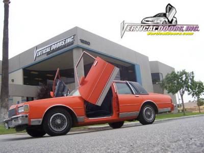 Vertical Doors Inc - Chevrolet Caprice Vertical Doors Inc Vertical Lambo Door Kit - VDCCHEVYCAP7790