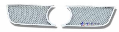 APS - Volkswagen Passat APS Wire Mesh Grille - Upper - Stainless Steel - V75533T