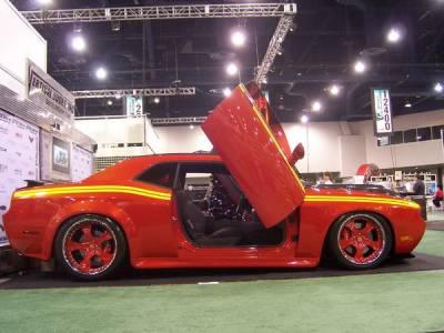 Vertical Doors Inc - Dodge Stealth Vertical Doors Inc Vertical Lambo Door Kit - VDCDSTE9196