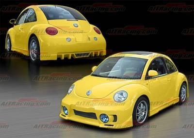 AIT Racing - Volkswagen Beetle AIT Racing EVO Style Complete Body Kit - VWB98HIEVOCK