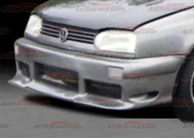 AIT Racing - Volkswagen Golf AIT Racing Corsa Style Front Bumper - VWG93HICORFB