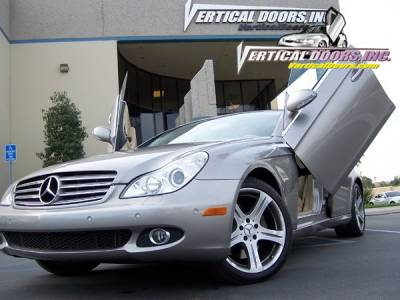 Vertical Doors Inc - Mercedes CLS Vertical Doors Inc Vertical Lambo Door Kit - VDCMERCLS0510