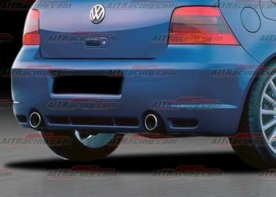 AIT Racing - Volkswagen Golf AIT Racing R32 Style Rear Bumper - VWG99HIR32RB