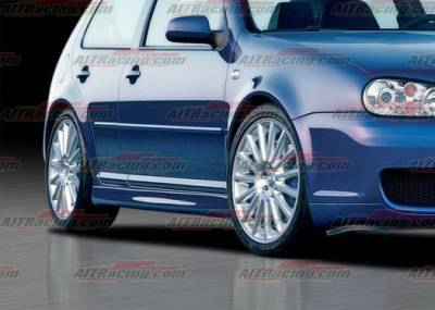 AIT Racing - Volkswagen Golf AIT Racing R32 Style Side Skirts - VWG99HIR32SS4