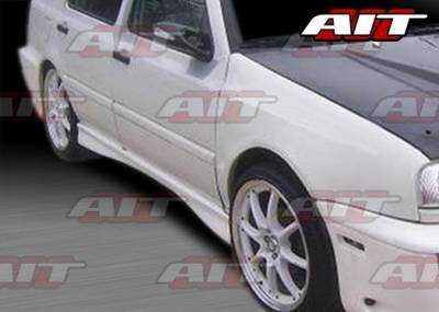 AIT Racing - Volkswagen Jetta AIT Corsa Style Side Skirts - VWJ93HICORSS