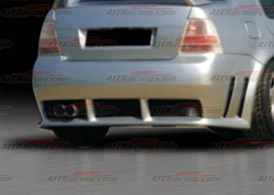 AIT Racing - Volkswagen Jetta AIT Racing GTR Style Rear Bumper - VWJ98HIGTRRB