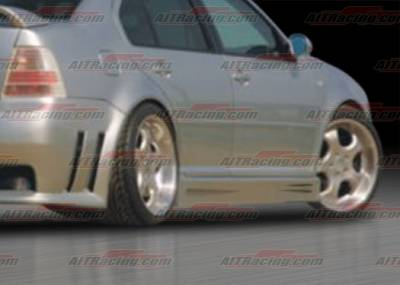 AIT Racing - Volkswagen Jetta AIT Racing GTR Style Side Skirts - VWJ98HIGTRSS