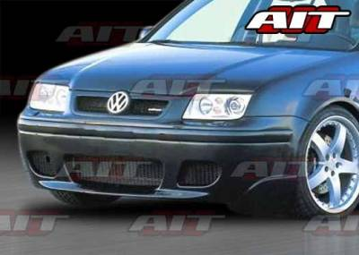 AIT Racing - Volkswagen Jetta AIT Corsa Style Front Bumper - VWJ99HICORFB