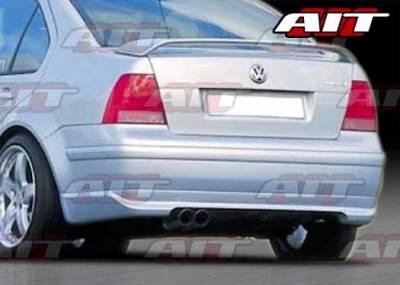 AIT Racing - Volkswagen Jetta AIT Corsa Style Rear Bumper - VWJ99HICORRB
