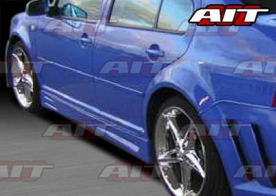 AIT Racing - Volkswagen Jetta AIT GTR Style Side Skirts - VWJ99HIGTRSS