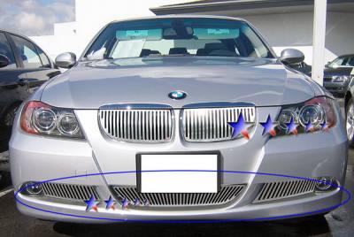APS - BMW 3 Series APS CNC Grille - Bumper - Aluminum - W95524V