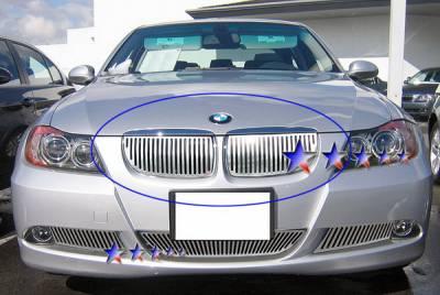 APS - BMW 3 Series APS CNC Grille - Upper - Aluminum - W95526V