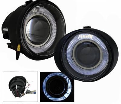 4CarOption - Nissan Murano 4CarOption Halo Projector Fog Lights - XT-FGPR-ATM-0204