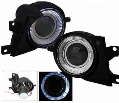 4CarOption - BMW 5 Series 4CarOption Halo Projector Fog Lights - XT-FGPR-E39-0002