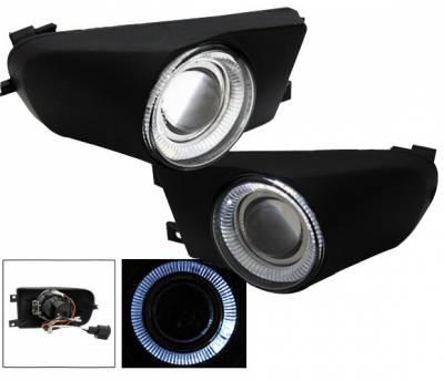 4CarOption - BMW 5 Series 4CarOption Halo Projector Fog Lights - XT-FGPR-E39-9600
