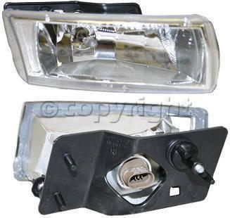 Custom - Diamond Clear Fog Lights Passanger Side