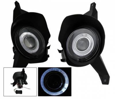 4CarOption - Ford Explorer 4CarOption Projector Fog Lights - XT-FGPR-EXPL-0104SP