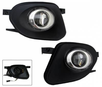 4CarOption - Mercedes E Class 4CarOption Projector Fog Lights - XT-FGP-W211-0306