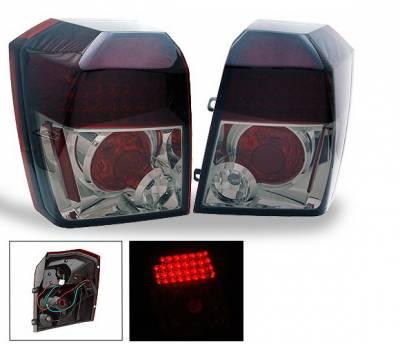 4CarOption - Dodge Caliber 4CarOption LED Taillights - XT-TLD-CLB0607SM-6