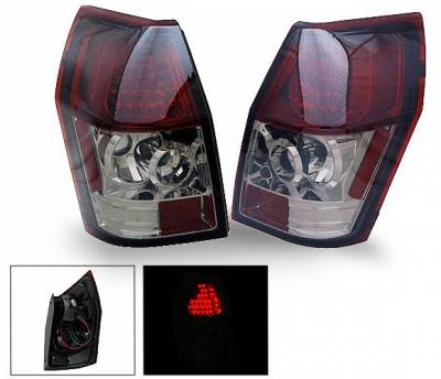 4CarOption - Dodge Magnum 4CarOption LED Taillights - XT-TLD-MGN0507SM-6