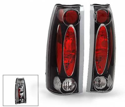4CarOption - Chevrolet C10 4CarOption Altezza Taillights - XT-TLZ-C108898BK-6
