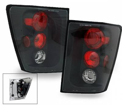 4CarOption - Jeep Grand Cherokee 4CarOption Altezza Taillights - XT-TLZ-GCRK0405BK-6
