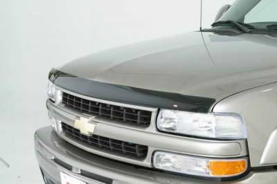 Wade - Wade Smoke Wide Bubble Wind Deflector 2PC - 68462