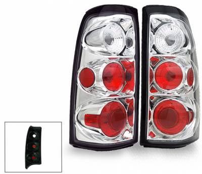 4CarOption - Chevrolet Silverado 4CarOption Altezza Taillights - XT-TLZ-SLV9902-6