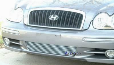 APS - Hyundai Sonata APS Billet Grille - Bumper - Aluminum - Y66435A