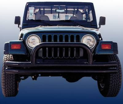 Aries - Jeep Wrangler Aries Tubular Bumper - Front - 3 Inch